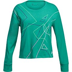 Girls 7-16 Under Armour On Pointe Cropped Long Sleeve Tee