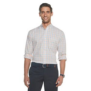 Men's IZOD Sportswear Premium Essentials Stretch Plaid Button-Down Shirt