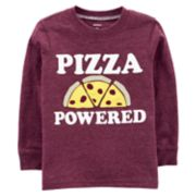 "Baby Boy Carter's ""Pizza Powered"" Tee"