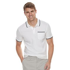 Men's SONOMA Goods for Life™ Tipped Pique Polo Shirt