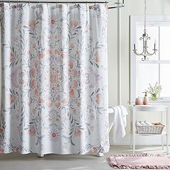 LC Lauren Conrad Carina Medallion Shower Curtain