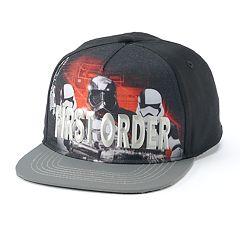 Boys 4-20 Star Wars Storm Trooper Cap