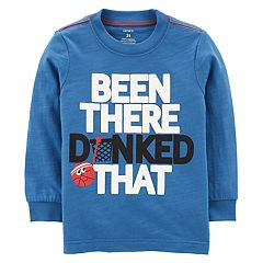 Baby Boy Carter's 'Been There Dunked That' Basketball Tee