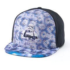 Boys 4-20 Star Wars 3D Storm Trooper Cap
