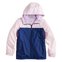 Girls 4-18 Columbia Fleece-Lined Windbreaker Jacket