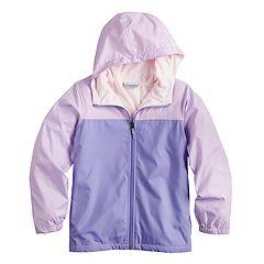 Girls 4-18 Columbia Fleece-Lined Windbreaker Jacket