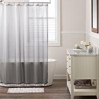 LC Lauren Conrad Dip Dye Shower Curtain