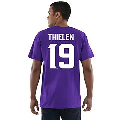 Men's Majestic Minnesota Vikings Adam Thielen Name and Number Tee