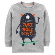 "Baby Boy Carter's Monster ""Just Roll With It"" Graphic Tee"
