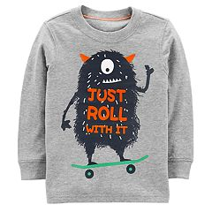 Baby Boy Carter's Monster 'Just Roll With It' Graphic Tee