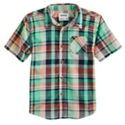 Boys 4-7 SONOMA Goods for Life? Plaid Shirt