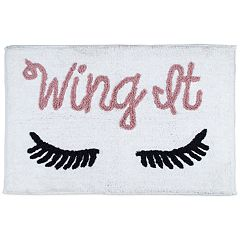 LC Lauren Conrad 'Wing It' Bath Rug