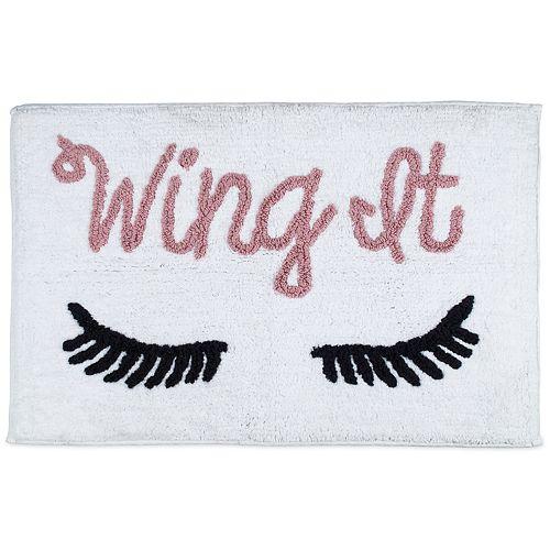 "LC Lauren Conrad ""Wing It"" Bath Rug"