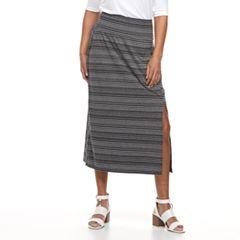Petite Apt. 9® Tummy Control Maxi Skirt