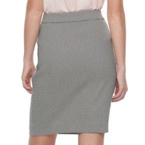 Women's ELLE™ Pull-On Pencil Skirt