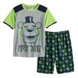 Boys 6-12 Five Nights At Freddy's 2-Piece Pajama Set