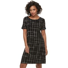 Petite Apt. 9® Cuffed T-Shirt Dress