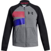 Girls 7-16 Under Armour Rival Fleece Bomber Jacket