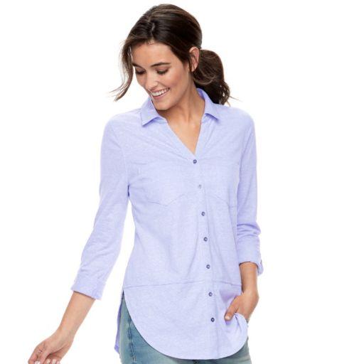 Petite SONOMA Goods for Life™ Tunic Shirt