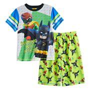 Boys 4-12 Lego Batman 2 pc Pajama Set