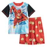 Boys 4-12 Justice League The Flash 2-Piece Pajama Set