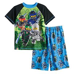 Boys 4-12 Lego Ninjago Movie 2-Piece Pajama Set