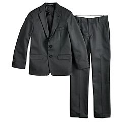 Boys 8-18 Van Heusen Dot 2 pc Suit Set