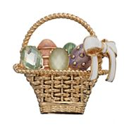 Napier Easter Basket Pin