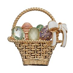 Napier Easter Basket Pin