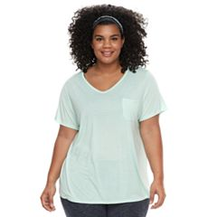 Plus Size Tek Gear® Pocket Tee