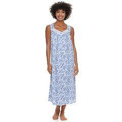 Women's Croft & Barrow® Knit Sleep Gown