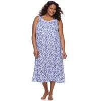 Plus Size Croft & Barrow® Knit Sleep Gown