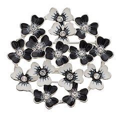 Napier Floral Cluster Pin
