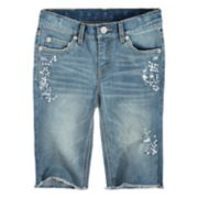 Girls 7-16 Levi's Seaside Bermuda Shorts