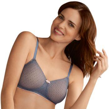 Amoena Jade Seamless Lace Wire Free T-Shirt Mastectomy Bra 44354