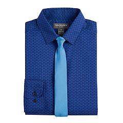Boys 8-20 Van Heusen Dash Shirt & Tie Set