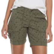 Women's SONOMA Goods for Life™ Ultra Comfortwaist Utility Shorts