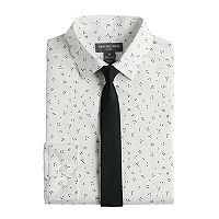 Boys 8-20 Van Heusen Galaxy Shirt & Tie Set