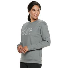 Women's Nike Therma Fleece Logo Training Top