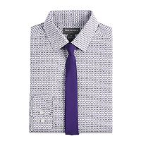 Boys 8-20 Van Heusen Geo Shirt & Tie Set