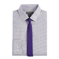 Boys 8-20 Van Heusen Geo Shirt & Tie Set