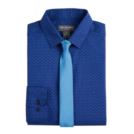 Boys 8-20 Van Heusen Shirt & Tie Sets