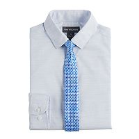 Boys 8-20 Van Heusen Stria Shirt & Tie Set