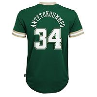 Boys 8-20 Milwaukee Bucks Giannis Antetokounmpo Jersey Tee