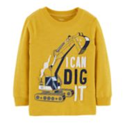 "Baby Boy Carter's ""I Can Dig It"" Construction Slubbed Graphic Tee"