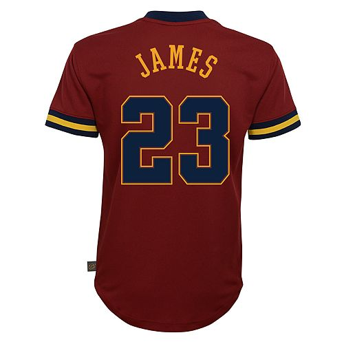 new products 4115f 50256 Boys 8-20 Cleveland Cavaliers LeBron James Jersey Tee