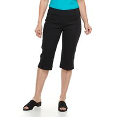 Women's Croft & Barrow® Polished Pull-On Skimmer Capris