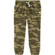 Baby Boy Carter's Camouflaged Fleece Jogger Pants