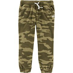 Baby Boy Carter's Camouflaged Fleece Jogger Pants