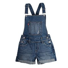 Girls 7-16 Levi's Shortalls